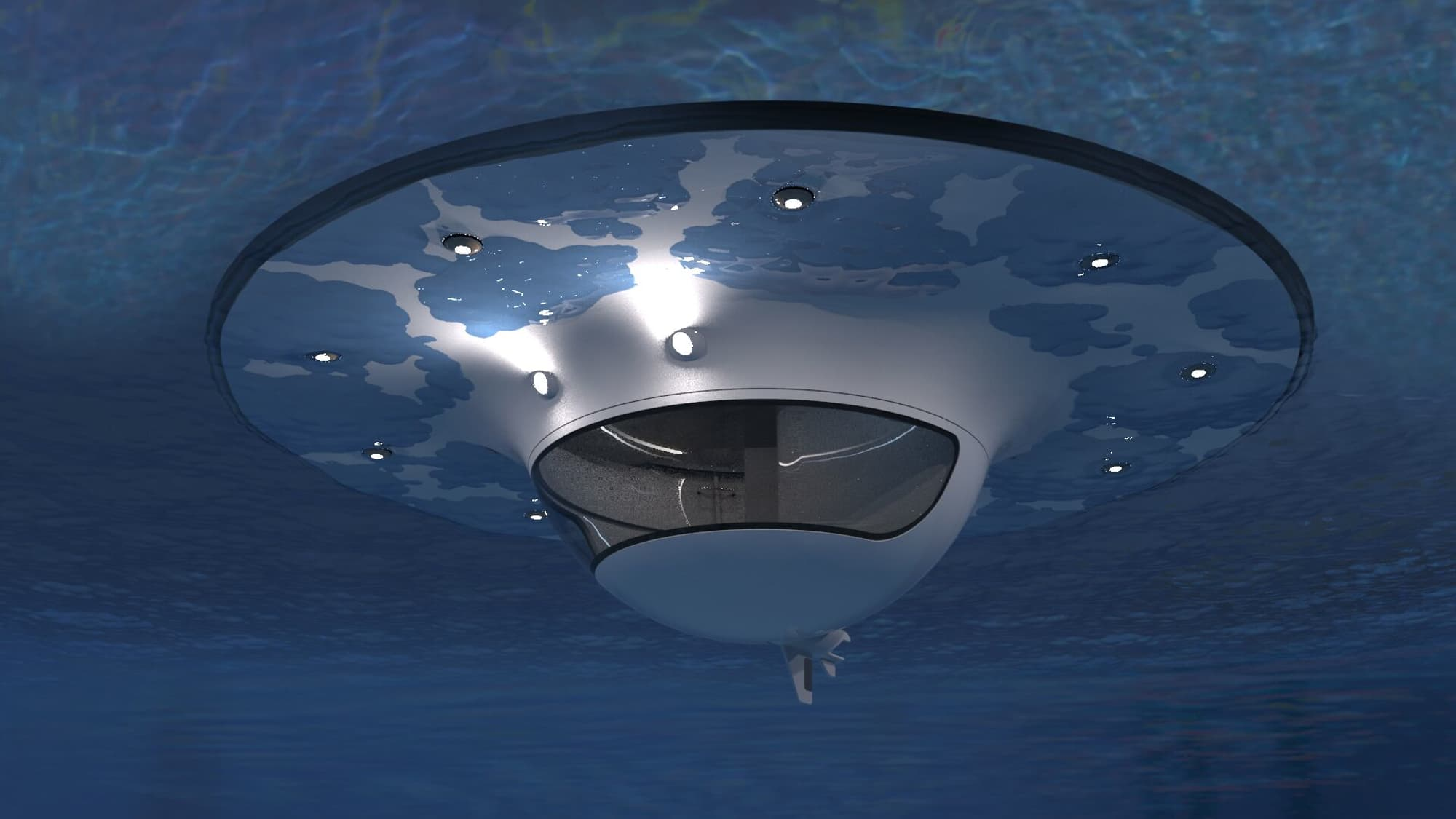 This Floating Ufo Home Lets You Live Off Grid On The Ocean